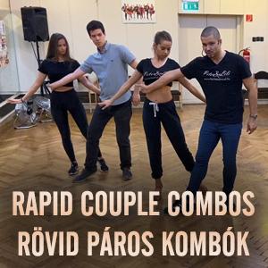 Rapid Couple Combos / Rövid páros kombók